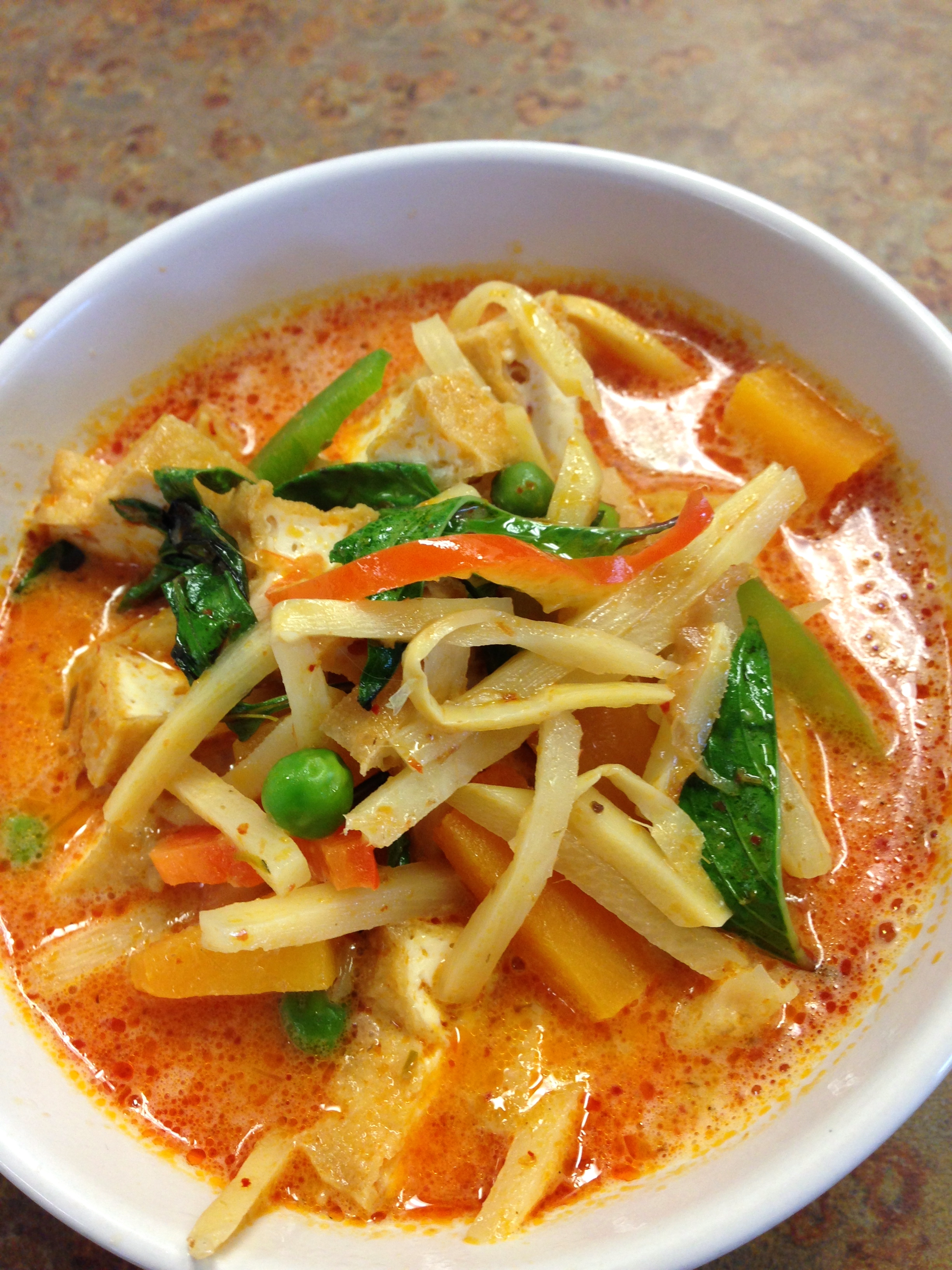 SP2 RED CURRY WITH BUTTER NUT SQUASH Image