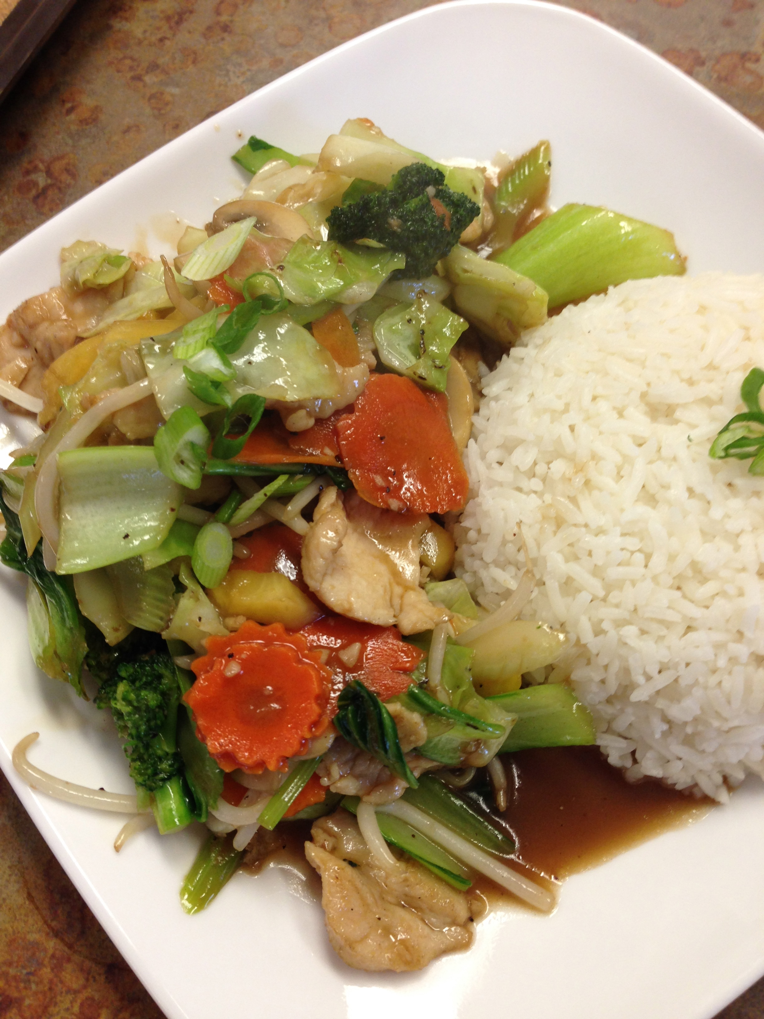#22 STIR FRIED VEGETABLES