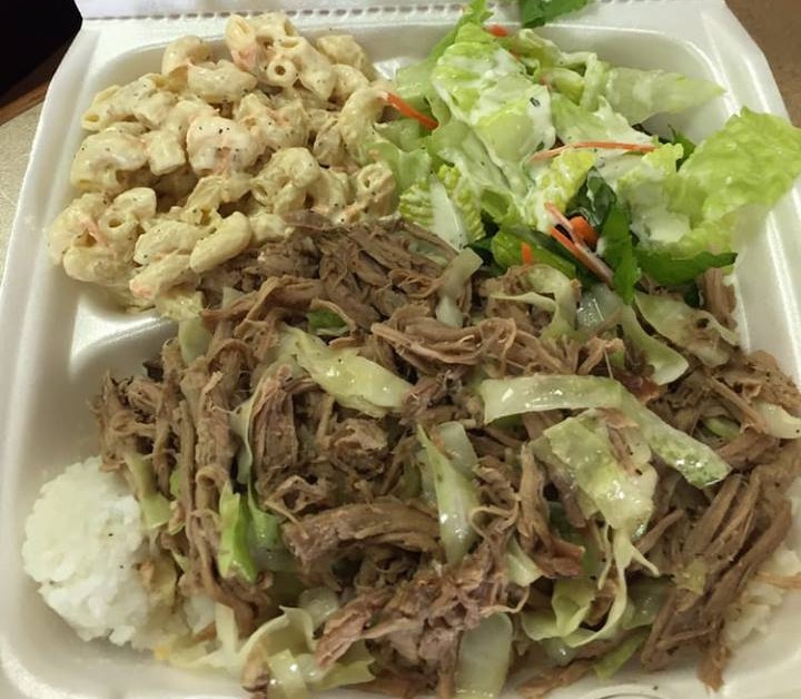 Kalua Pork Plate Image