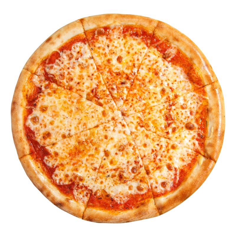 Plain - Round Pizza Image