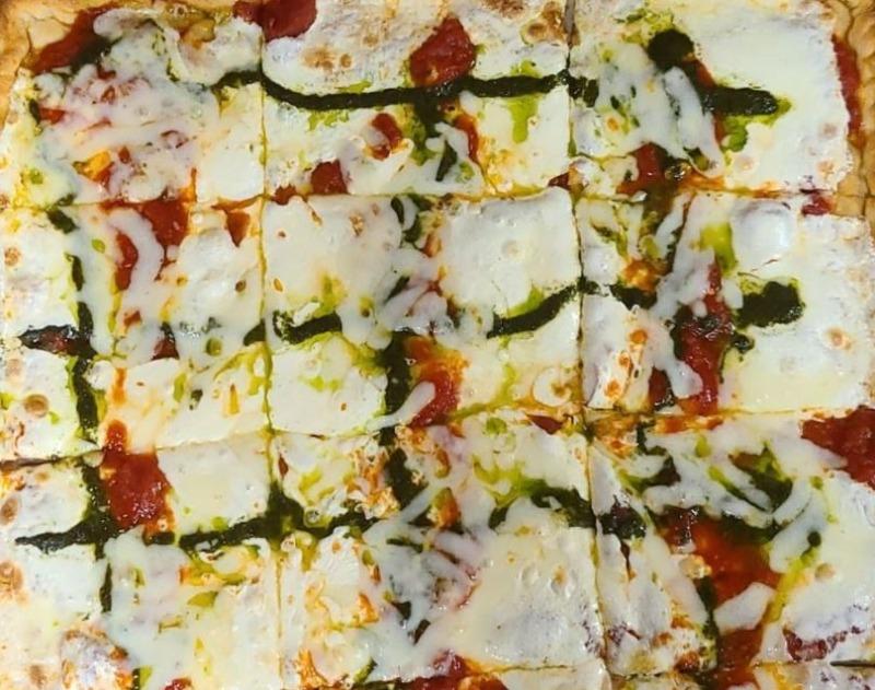 Grandma - Square Sicilian Pizza Image