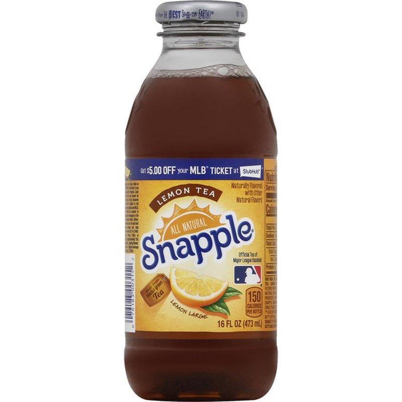 Snapple Iced Tea  16 oz. Image