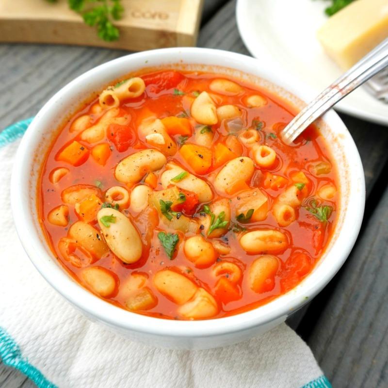 Pasta Fagioli Soup Image