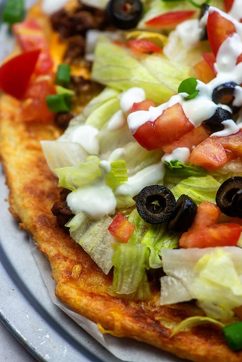 Taco - Round Pizza Image