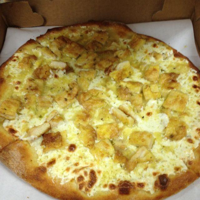 Chicken Francese - Round Pizza Image
