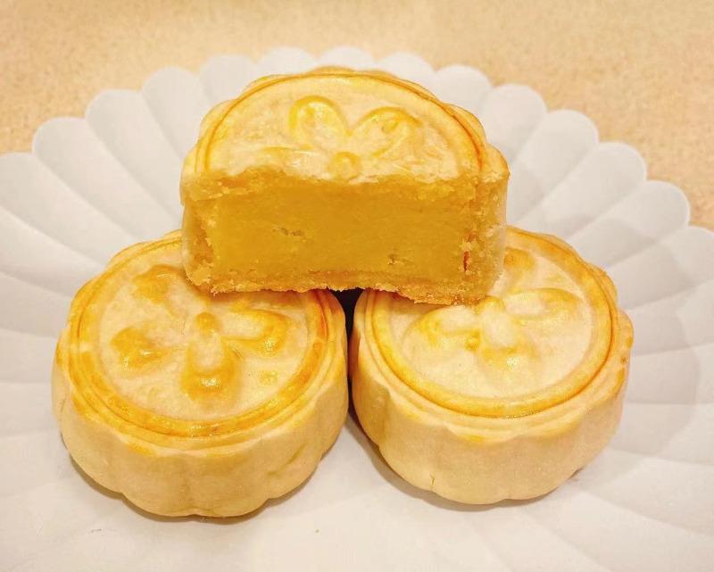 Custard Mooncake Image