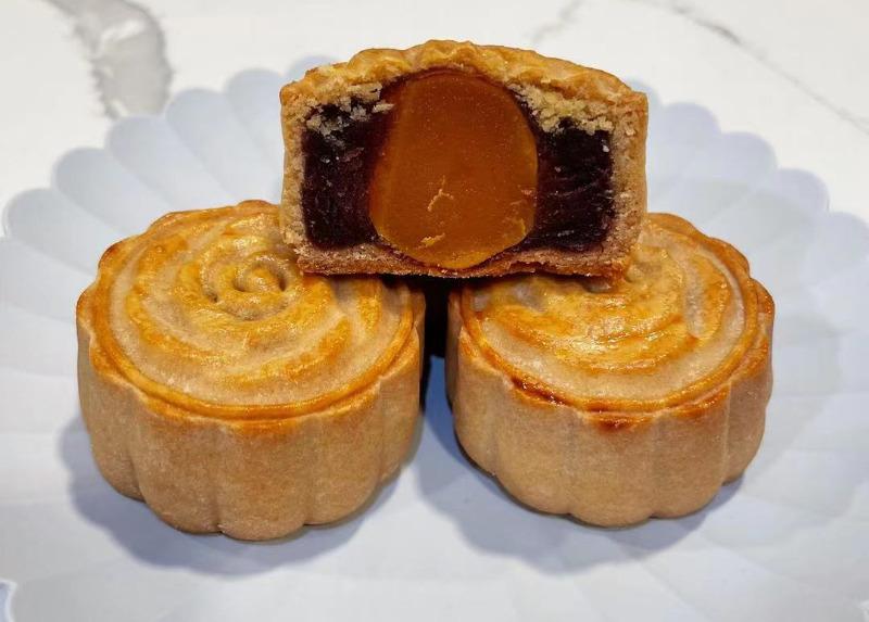 Red Bean Mooncake Image