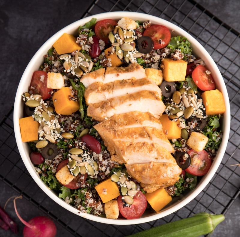 Grilled Chicken Harvest Salad