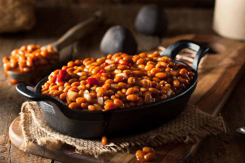 Pit Smoked Beans