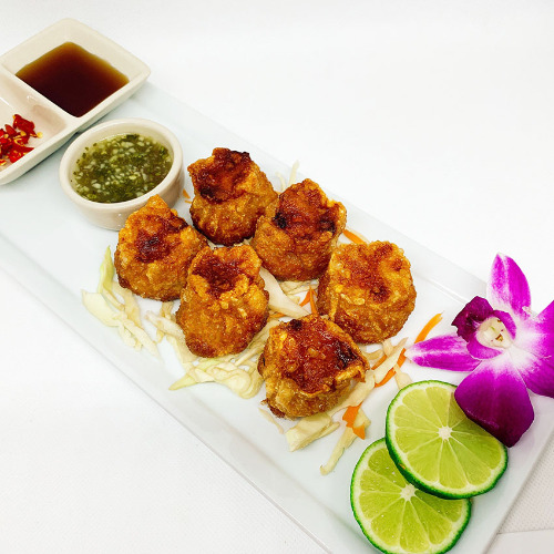 Crispy Shrimp Dumplings (6 Pcs)