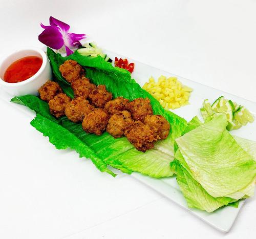 Thai Garlic Chicken Balls Image