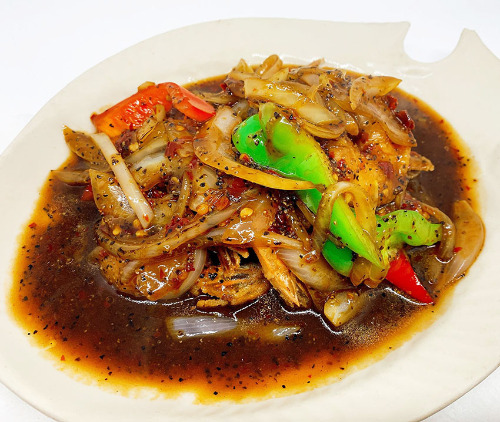 Pad Black Peppers Image
