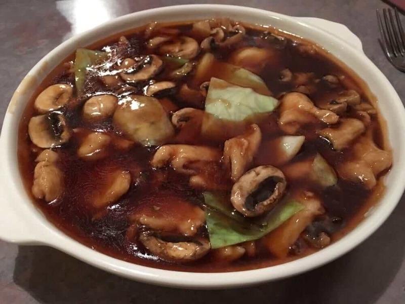 Chicken w/ Oyster Sauce & Mushrooms Image