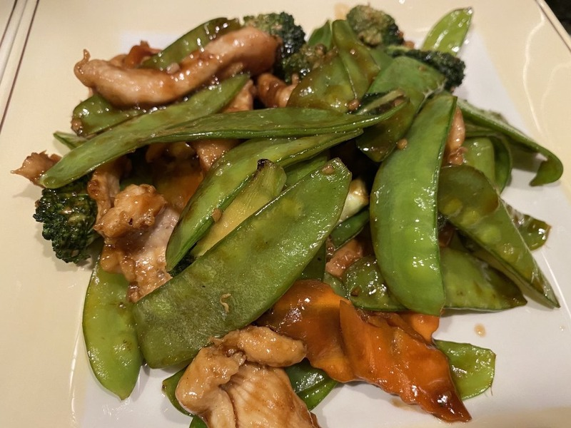 Chicken w/ Snow Peapods Image