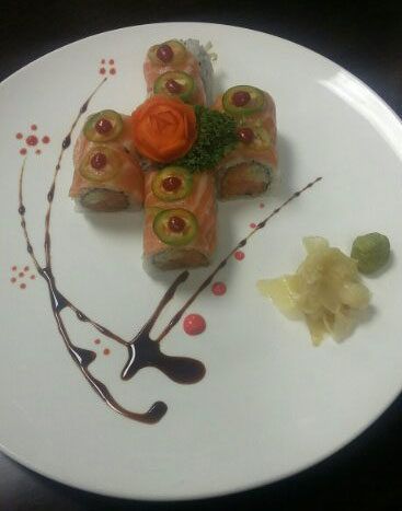 15. Crazy Salmon Roll Image