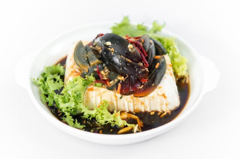 A10. Tofu w. Preserved Eggs Image
