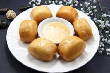 A15. Fried Buns w. Condensed Milk