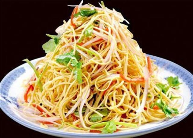 A21. Shredded Dry Tofu w. Hot Sauce Image