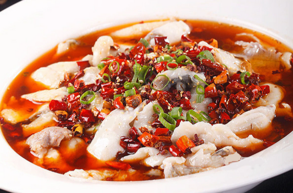 B11. Sliced Fish w. Hot Chili Oil Image