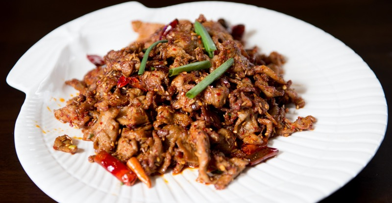 B12. Sliced Lamb w. Cumin and Chili Sauce Image