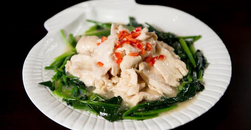 C 6. Spinach Chicken