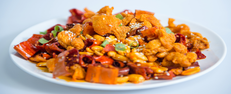 C 7. Hot & Spicy Chicken Image