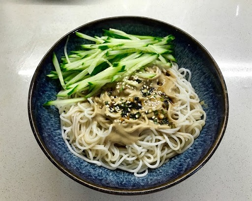 N 6. Noodle Mixed w. Sesame Paste