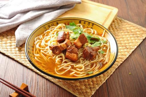 N 9. Braised Pork Belly Noodle Soup