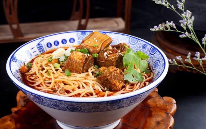 N10. Braised Ribs Noodle Soup Image