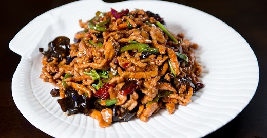 M 1. Shredded Pork w. Hot Garlic Sauce Image