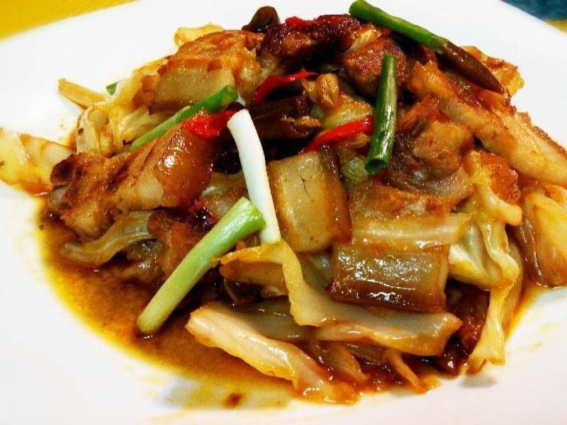 M 4. Spicy Double Cooked Pork Image