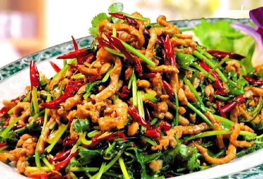M25. Spicy Shredded Pork w. Cilantro Image