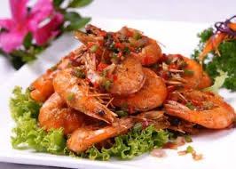 S 7. Crispy Shrimp w. Salt and Pepper Image