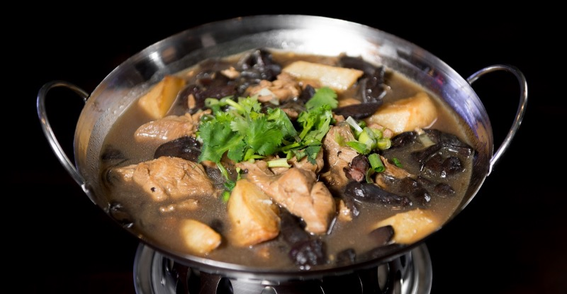 P 5. Chicken w. Mushroom