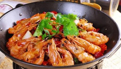 P12. Griddled Spicy Shrimp