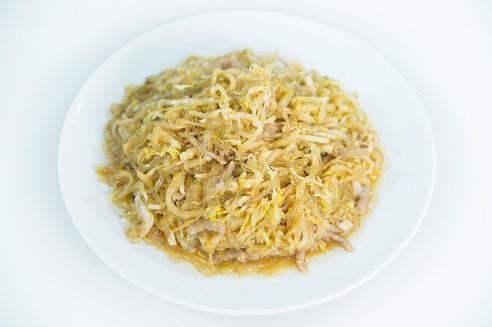 V 3. Sauteed Pickled Cabbage w. Vermicelli & Pork
