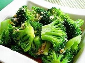 V11. Broccoli w. Fresh Garlic