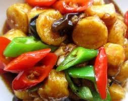 V18. Braised Japanese Tofu