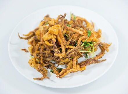 M13. Fried Squid w. Chili