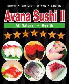 Avana Sushi - Franklin St, Boston