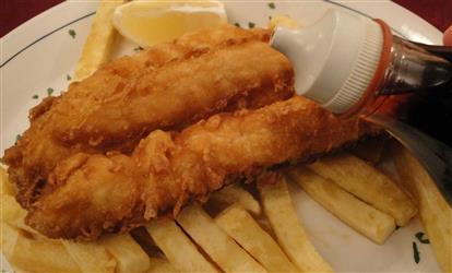 4 Piece Fish Dinner Image