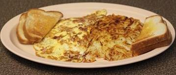 3 Meat Cheese Omelette Image