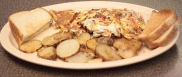 Mushroom & Cheese Omelette
