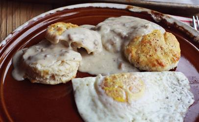 2 Biscuits & Gravy