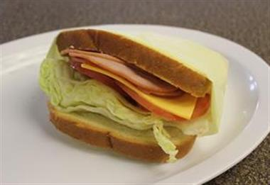 Ham Cheese Sandwich Image