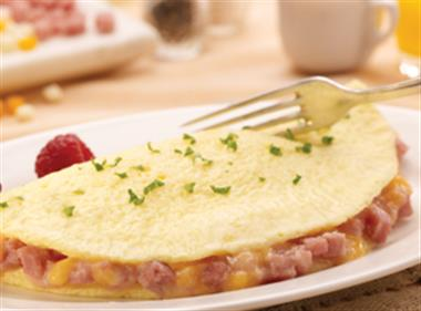 Ham & Cheese Omelette Image