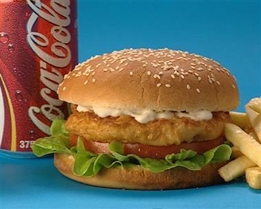 Kids Burger Combo Image