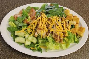 Chicken Caesar Salad (Grilled Chicken) Image