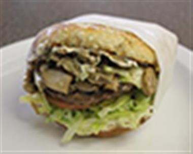 Mushroom Cheeseburger Image
