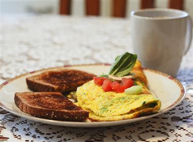 Veggie Omelette Image